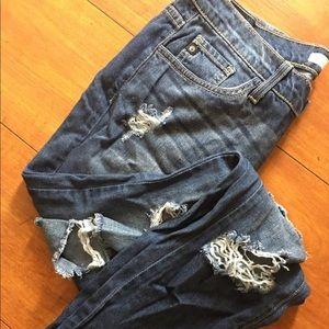VINTAGE Distressed KanCan Jeans Size 26